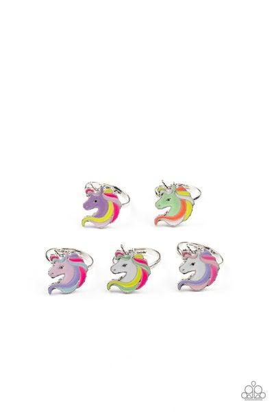 Starlet Shimmer Ring Kit - Multicolored Unicorn Frames