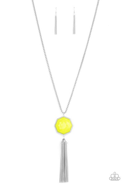 Prismatically Polygon - Yellow