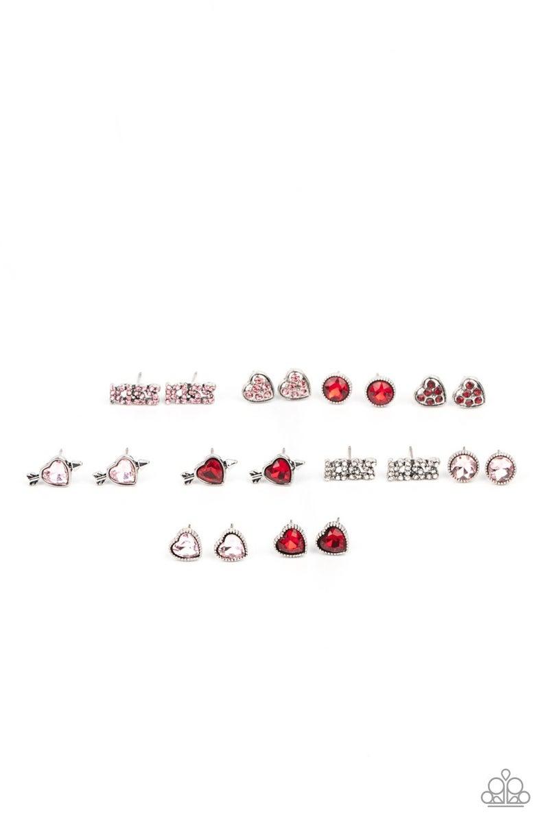 Starlet Shimmer Earring Kit - Heart Shapes, KISS