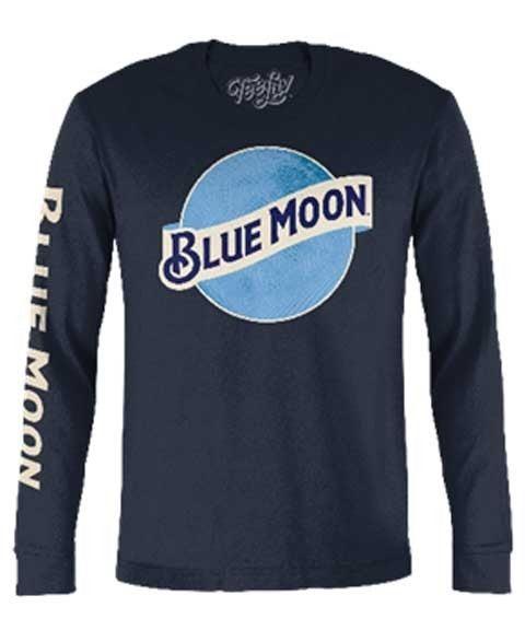BLUE MOON LONG SLEEVE GRAPHIC TEE