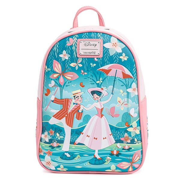 LOUNGEFLY DISNEY MARY POPPINS JOLLY HOLIDAY MINI BACKPACK (PRE-ORDER, MAY 2021)