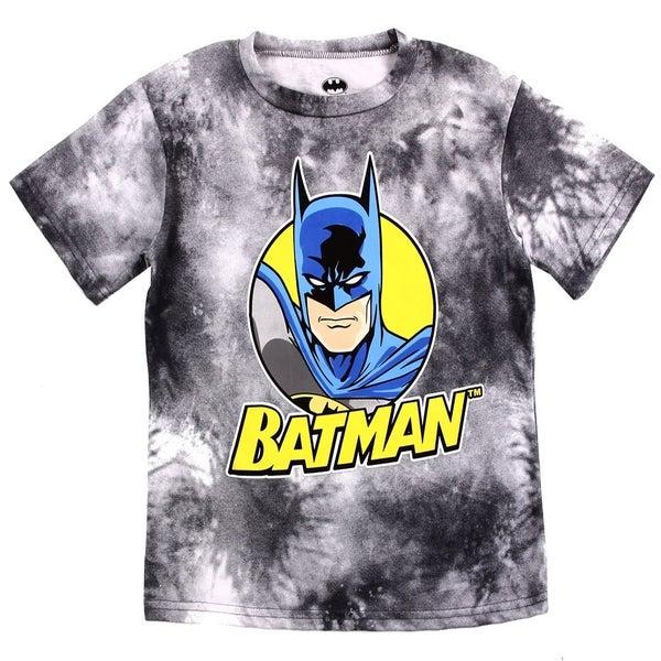 BOYS BATMAN TIE DYE T-SHIRT