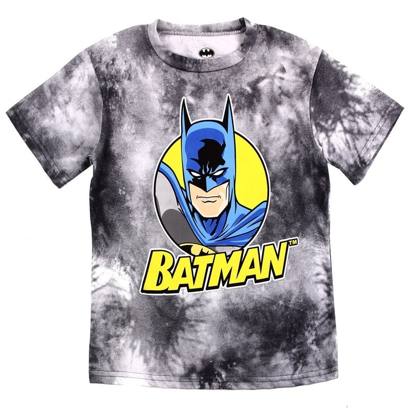 BOYS BATMAN TIE DYE T-SHIRT
