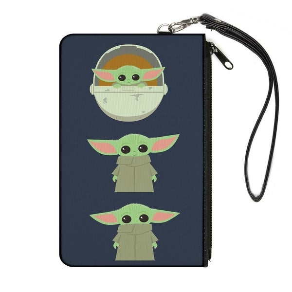 BUCKLE DOWN STAR WARS THE CHILD 3 CHIBI POSES WALLET