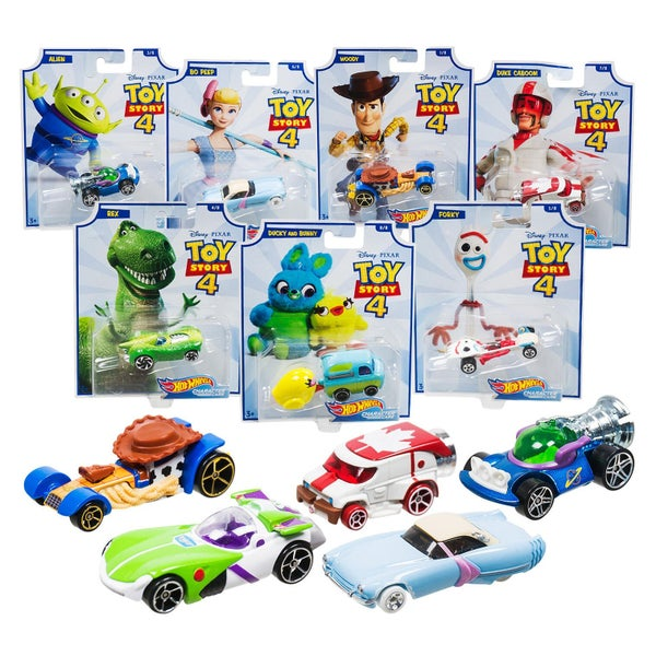 TOY STORY 4 HOT WHEELS