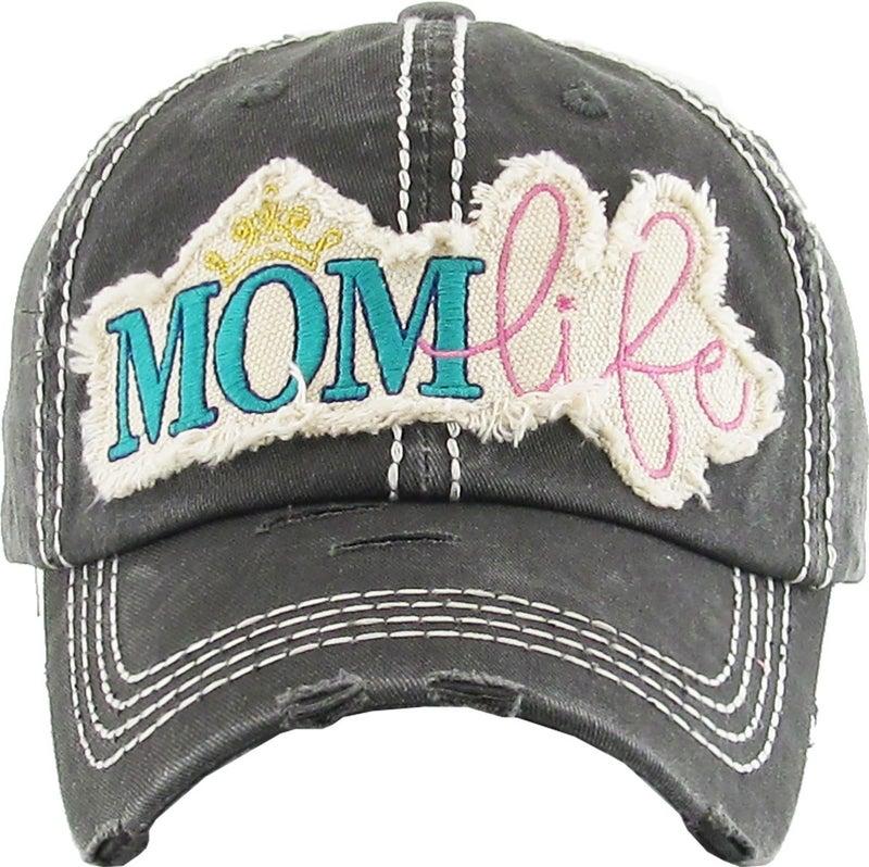 MOM LIFE VINTAGE BALLCAP HAT