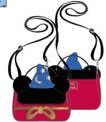 LOUNGEFLY X DISNEY SORCERER MICKEY COSPLAY BAG