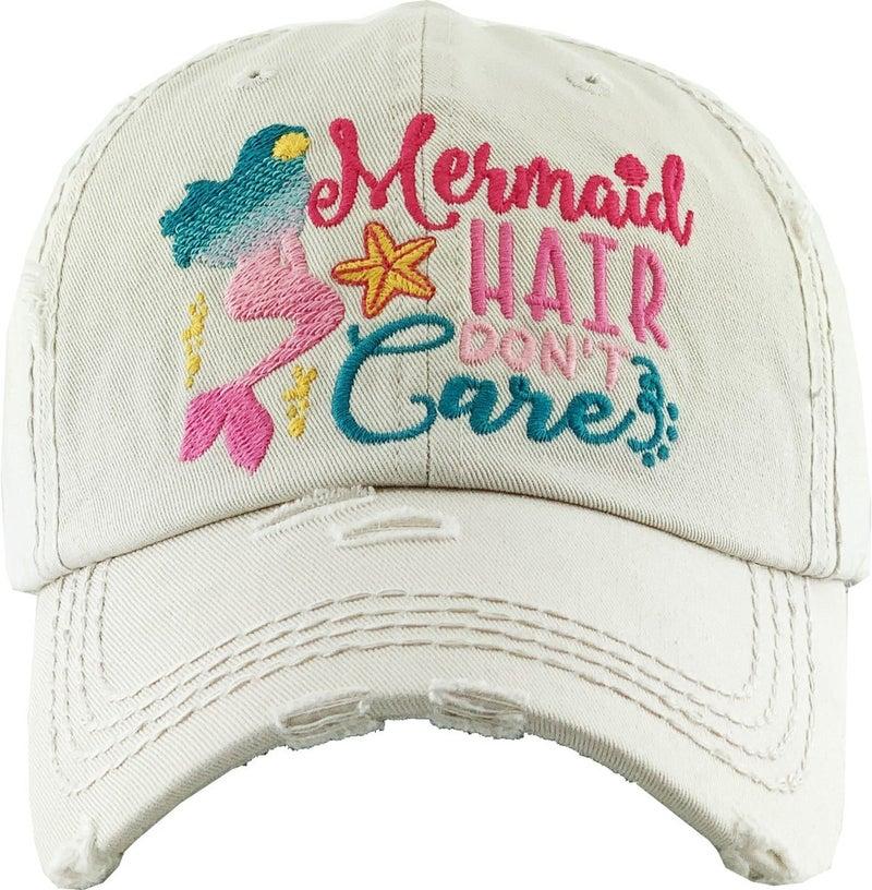 MERMAID HAIR DON'T CARE VINTAGE BALLCAP
