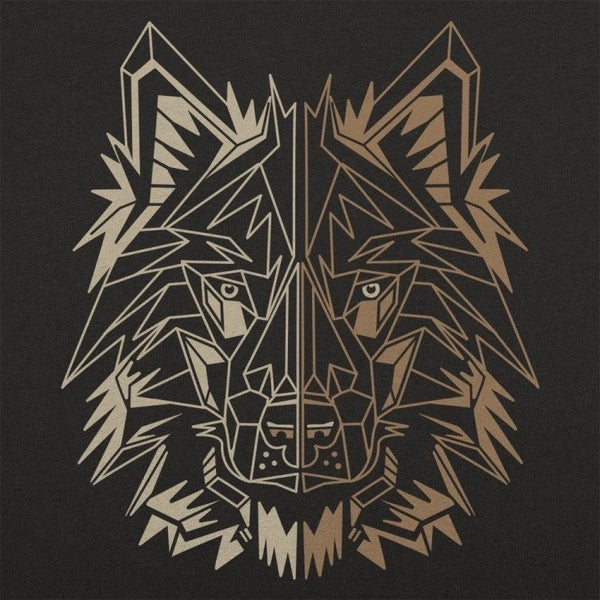 POLYGON WOLF GRAPHIC TEE