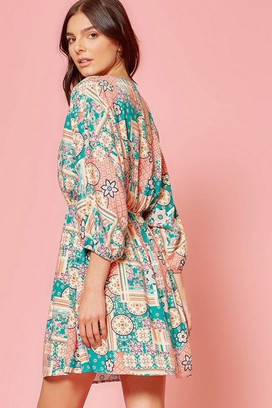 ANDREE BY UNIT WOVEN DRESS