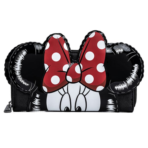 LOUNGEFLY DISNEY MICKEY MINNIE BALLOONS COSPLAY ZIP AROUND WALLET (PRE-ORDER, MAY 2021)