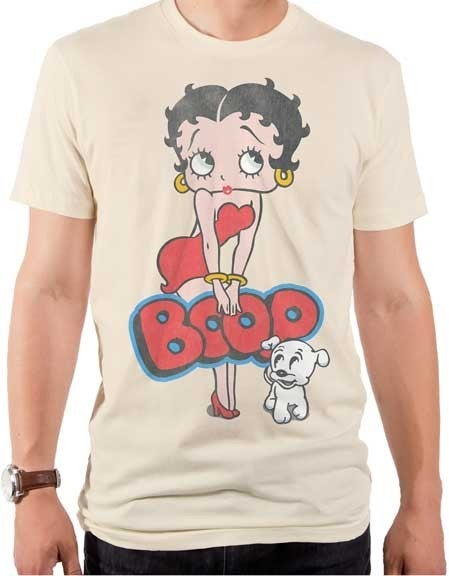BETTY BOOP VINTAGE SASSY GRAPHIC TEE