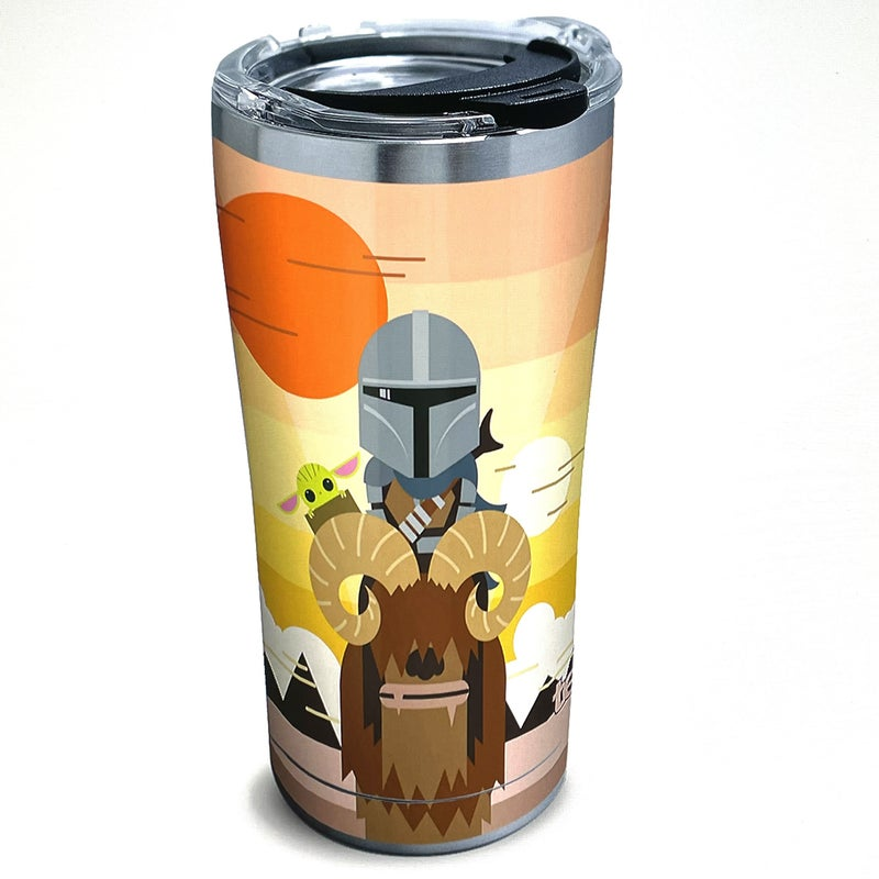 TERVIS STAR WARS MANDALORIAN GEO POP GROUP 20 OZ STAINLESS TUMBLER