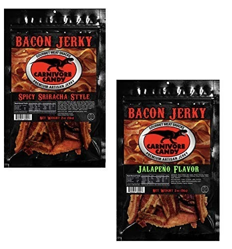 CARNIVORE CANDY UNCURED BACON JERKY