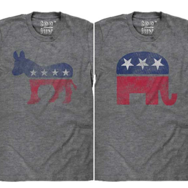 POLITICAL ANIMAL GRAPHIC TEE