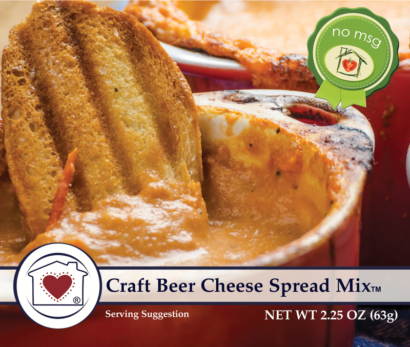 CRAFT BEER CHEESE SPREAD MIX