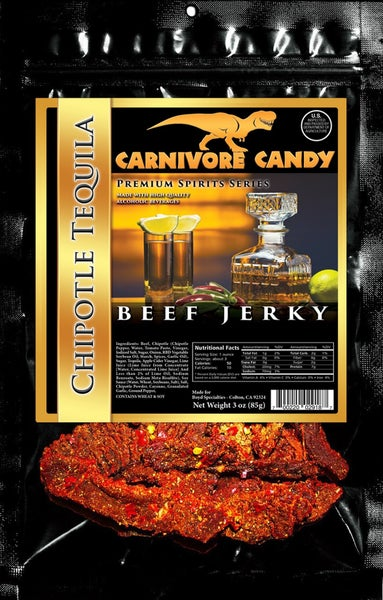 CARNIVORE CANDY BLACK LABEL BEEF JERKY