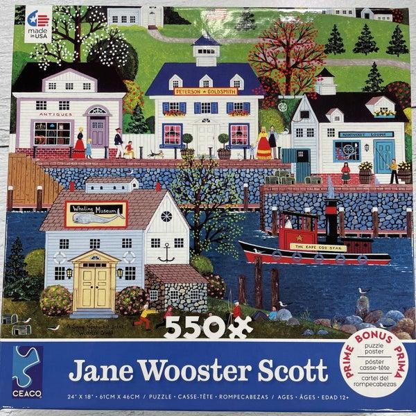 JANE WOOSTER SCOTT 500 PIECE PUZZLES