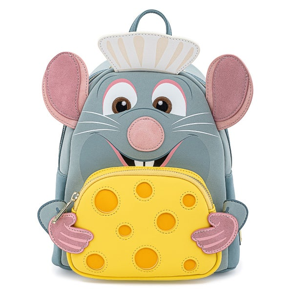 LOUNGEFLY DISNEY PIXAR RATATOUILLE CHEF COSPLAY MINI BACKPACK (PRE-ORDER, MAY 2021)