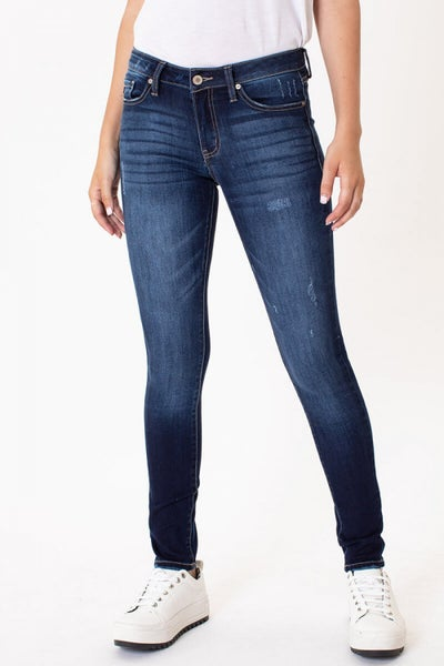 KANCAN Mid Rise Non Distressed Super Skinny