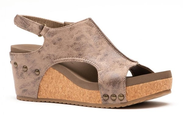 CORKYS VOLTA BROWN DISTRESSED