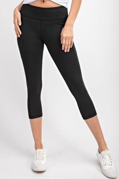 CAPRI WORKOUT LEGGINGS W/ POCKETS