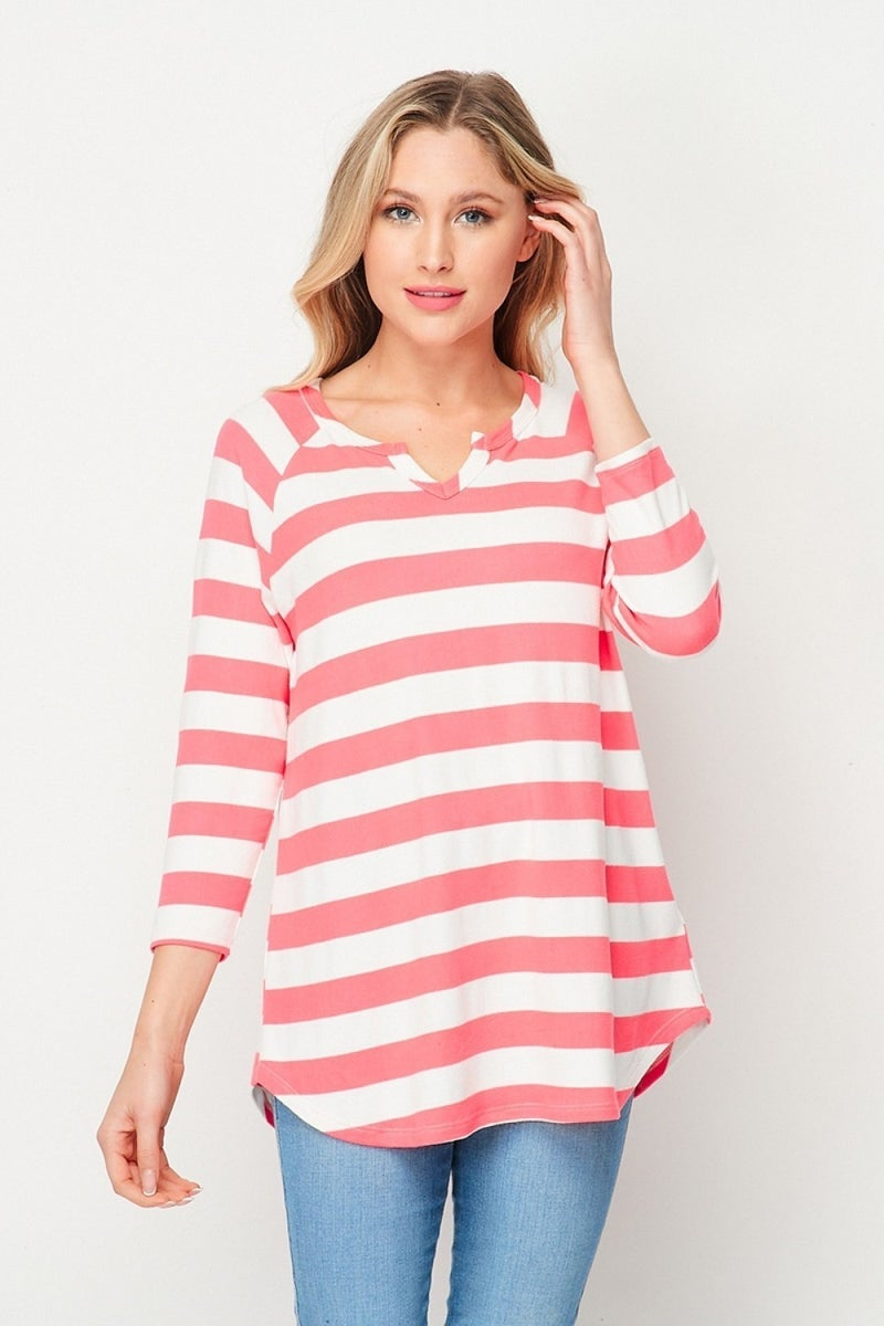 HONEYME STRIPED TOP