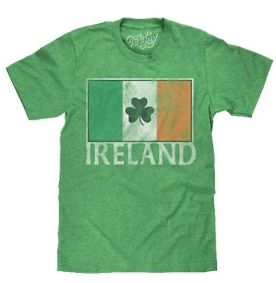 IRELAND FLAG GRAPHIC TEE