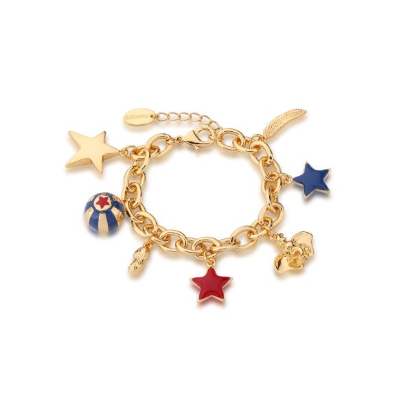 COUTURE KINGDOM DUMBO CHARM BRACELET - YELLOW GOLD