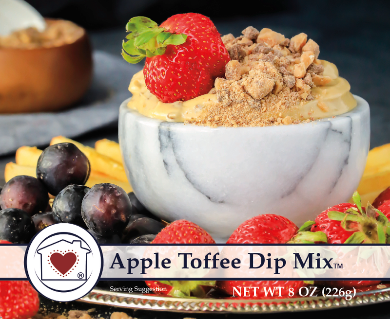 APPLE TOFFEE DIP MIX