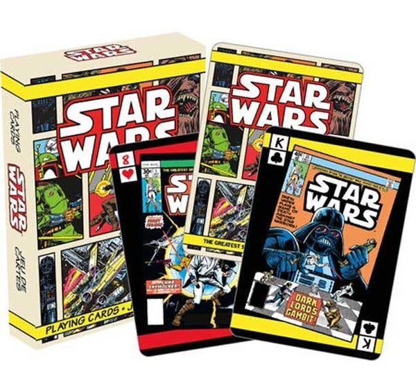 STAR WARS COMIC BOOK PLAYING CARDS