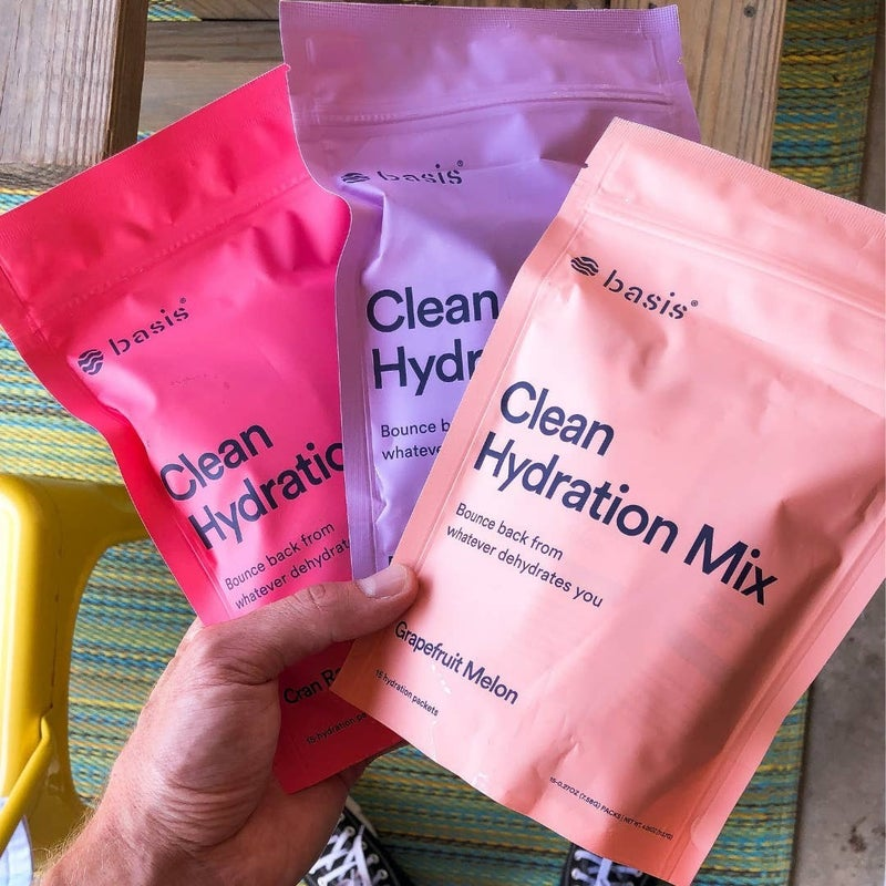 Clean Hydration Mix - 15 Packets