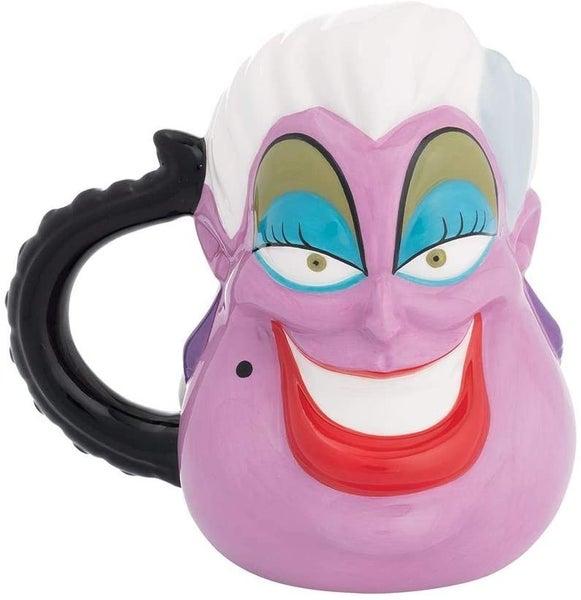 Disney The Little Mermaid Ursula 20 oz. Premium Sculpted Ceramic Mug