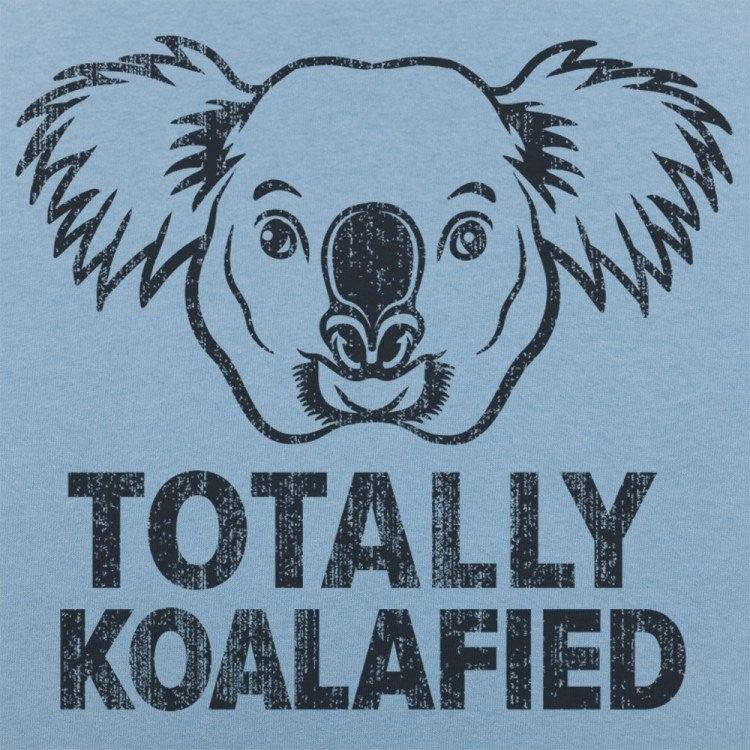 TOTALLY KOALAFIED GRAPHIC TEE