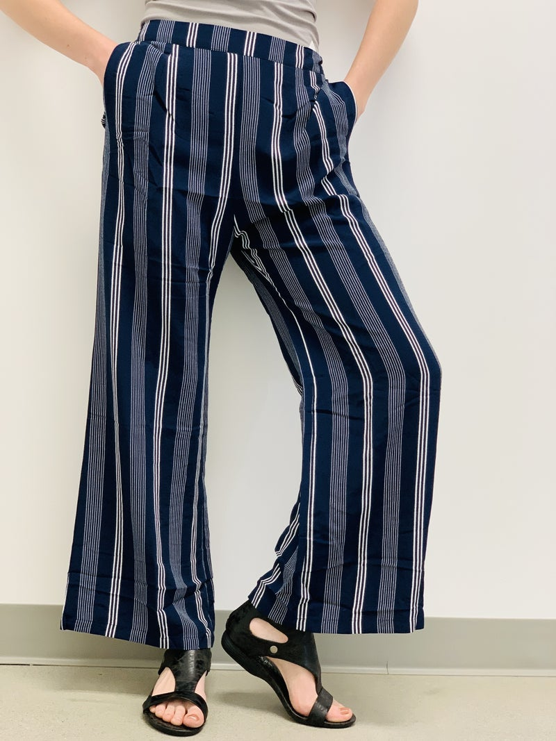 STRIPED LINED PANT