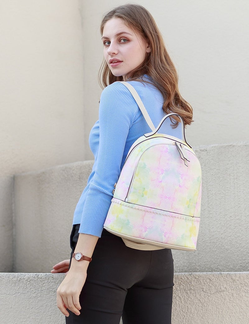 2 Compartment Backpack w/ Stitch Detail