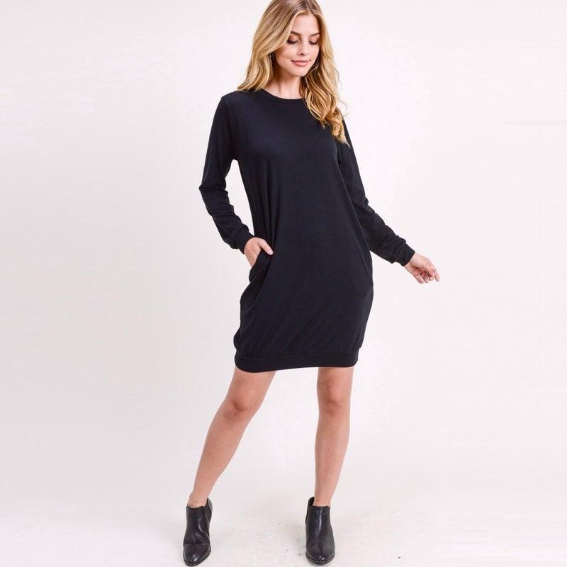 SWEATER TUNIC DRESS