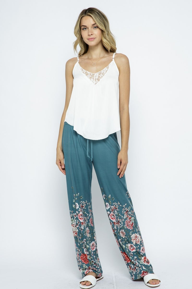VOCAL FLORAL LOUNGE PANTS