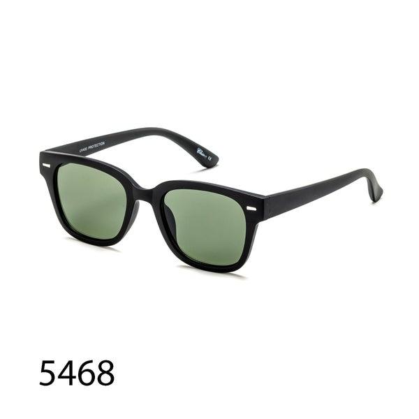 Classic Retro Square Matte Rubber Glossy Sunglasses