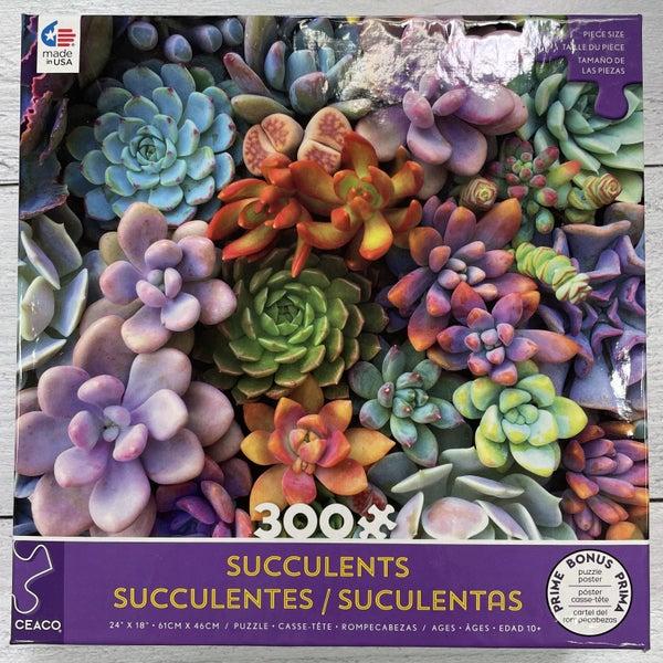 CEACO SUCCULENTS 300 PIECE PUZZLES