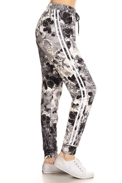 FLORAL JOGGERS BUTTERY SOFT