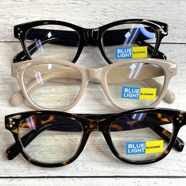 Blue-Light Protection Computer Glasses Blocks UV Anti Blue Light Computer Glasses