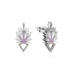 COURTURE KINGDOM FROZEN ICE CRYSTAL EARRINGS - WHITE GOLD