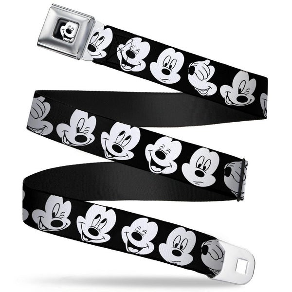 BUCKLE DOWN MICKEY MOUSE SEATBELT BELT
