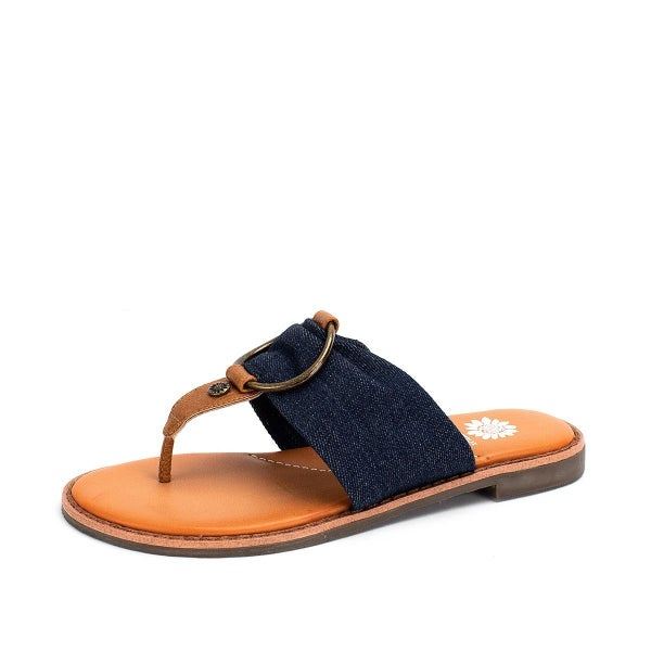 YELLOWBOX WHITNEY SANDALS - DENIM