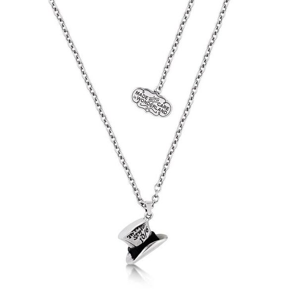 COUTURE KINGDOM Disney Alice in Wonderland Mad Hatter Necklace - WHITE GOLD