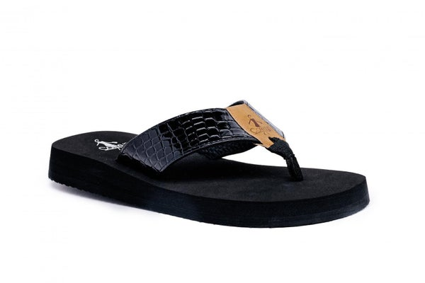 CORKYS BEACH BALL SANDALS - BLACK