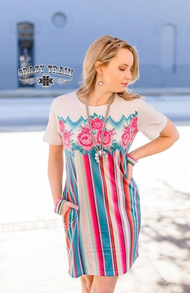CRAZY TRAIN CALYPSO COOL DRESS