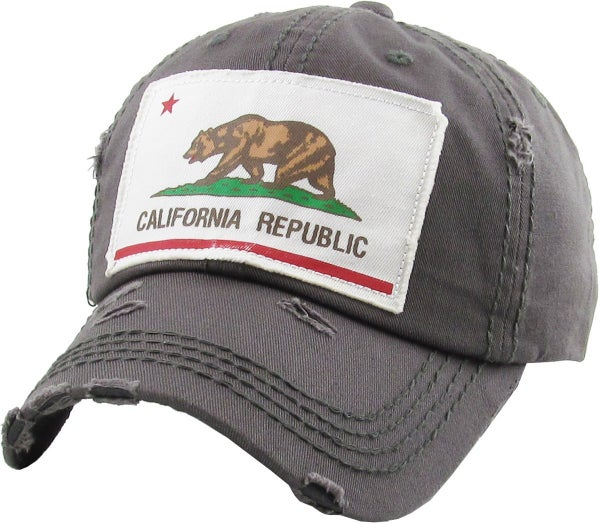 CALIFORNIA VINTAGE BALLCAP HAT