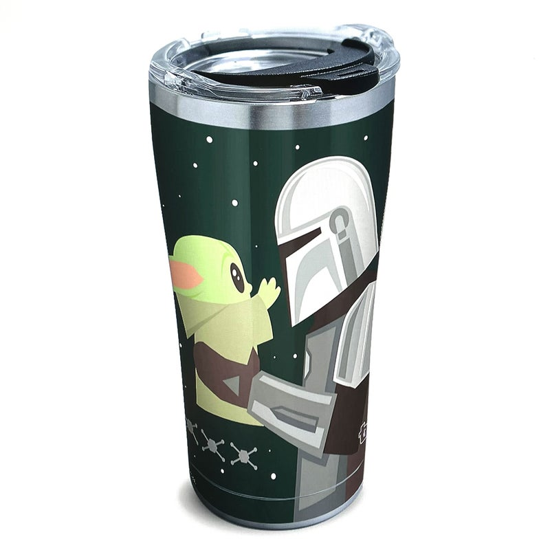 TERVIS STAR WARS MANDALORIAN GIO POP MOMENT 20 OZ STAINLESS TUMBLER